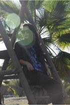 SisterBirkin blouse - Isabel Marant pour HM blazer - Celine sunglasses