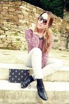 Zara pants - pull&bear jumper