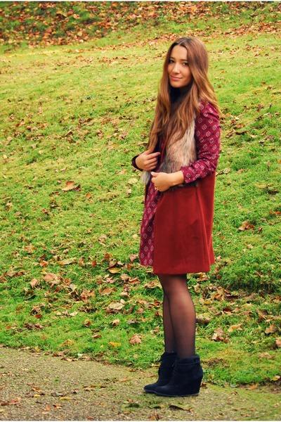 Zara dress - Zara coat
