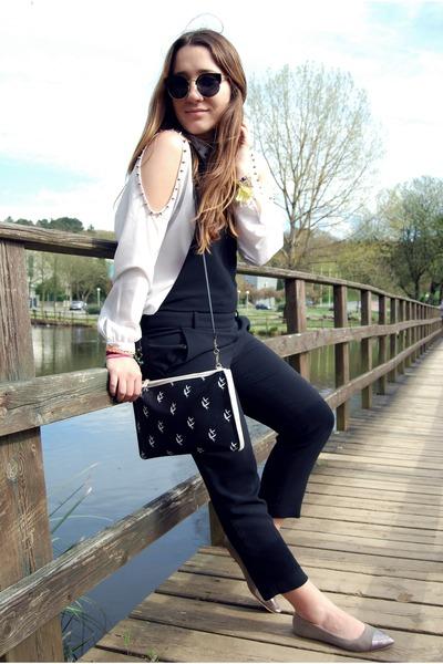 Zara bodysuit - Primark flats