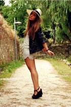 Zara hat - pull&bear heels