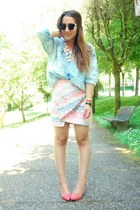 Zara skirt - light pink Zara shirt