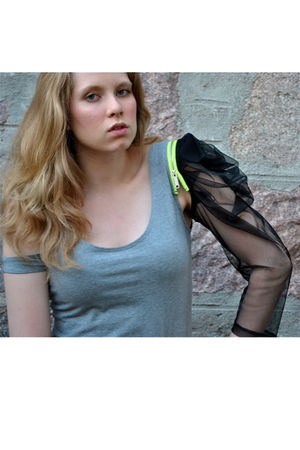 gray stolen girlfriends club dress - black Henry Holland for Pretty Polly stocki