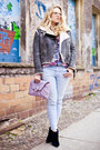 Thakoon-boots-current-elliot-jeans-acne-jacket-luella-bag-vintage-blouse
