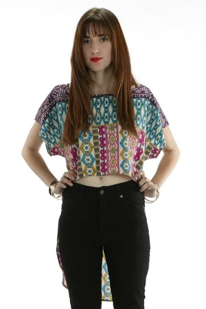 Skinnybitch Apparel Rojas top