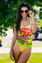 HAMBURGER ONE-PIECE