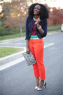 Aldo-necklace-h-m-blazer-jcrew-shirt-h-m-bag-zara-heels-jcrew-pants