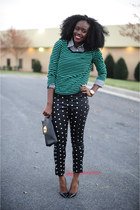 Loft bracelet - H&M sweater - Christian Louboutin pumps - Jcpenny pants