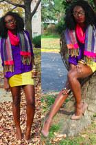 Aldo pumps - hm shirt - f21 skirt