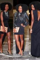 Zara shoes - Aqua dress - BCBG bag
