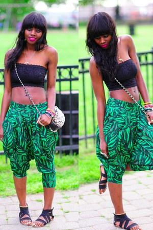Aldo purse - Forever 21 top - Forever 21 pants
