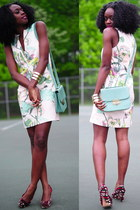 H&M dress - Gucci shoes - Forever 21 purse