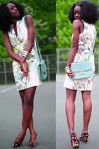 H&M dress - Gucci shoes - Forever 21 purse