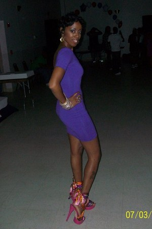 American Apparel dress - Bebe shoes