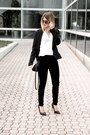 Black-gojane-blazer-black-velvet-h-m-pants-white-choies-top