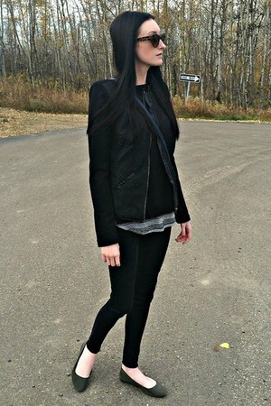 black eShakti jacket