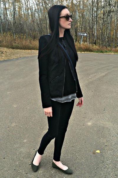 black eShakti jacket