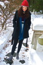 Knit-gap-hat-lace-up-wedge-chinese-laundry-boots-forever-21-coat