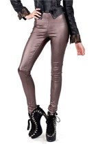 Bronze Babe Iridescent Metallic Pants