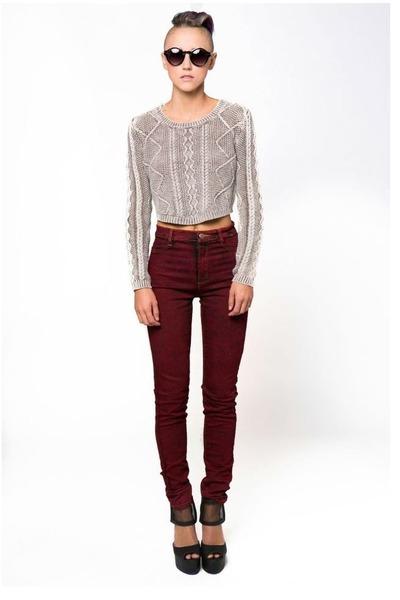 mono B sweater