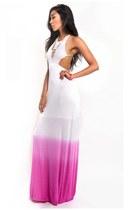 hot pink Slimskii dress