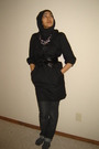 Black-vera-moda-dress