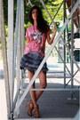 Zara-heels-edward-achour-skirt-29-pages-t-shirt-little-shilpa-necklace