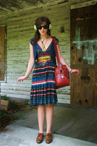aa vest - Marc by Marc Jacobs dress - shoes - sunglasses