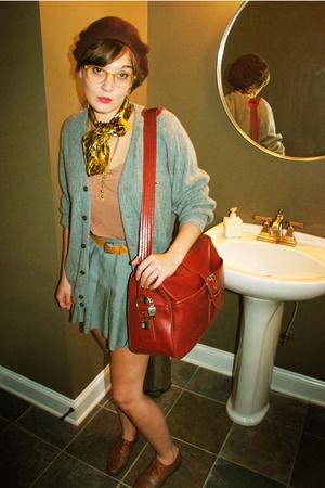 IZOD sweater - skirt - purse - t-shirt