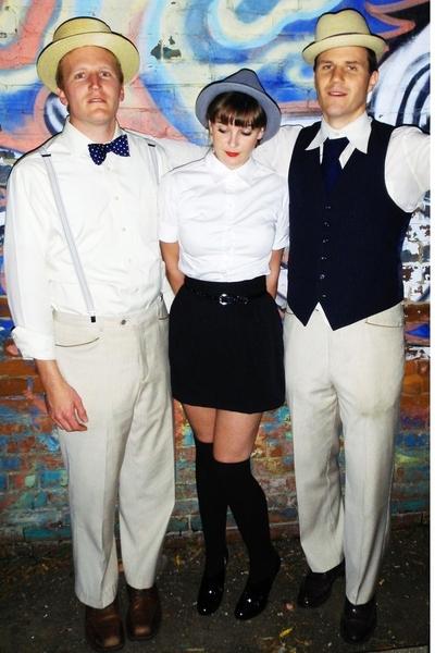 H&M hat - Target shirt - vintage skirt - BCBG shoes