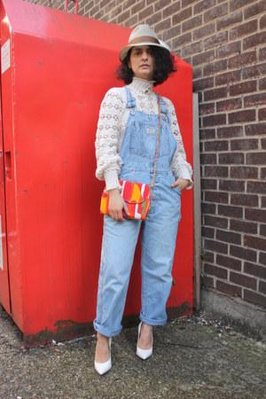 SoLovesVintage top - vintage bag SoLovesVintage bag - Levis bodysuit