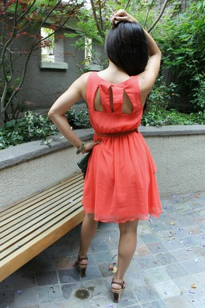 coral Love Riche dress