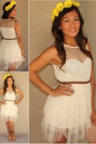 ivory DBE dress