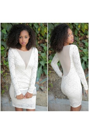 beige SBH dress