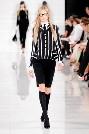 black pumps Ralph Lauren shoes - Ralph Lauren jacket