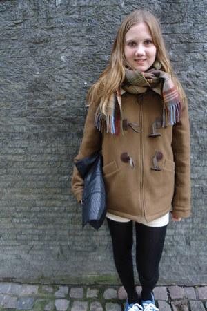 woolen Sesuin coat - Mulberry scarf