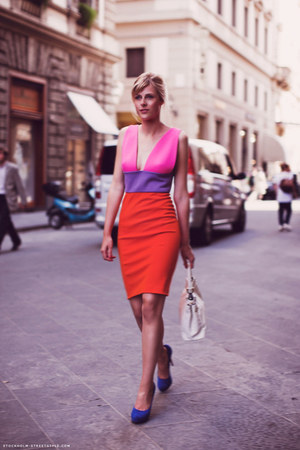Fausto Puglisi dress - Chiara Ferragni shoes shoes