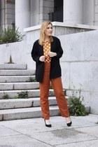 Kiabi jacket - nice things pants - Zara pumps - nice things top