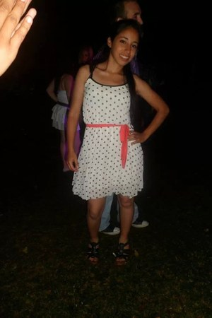 white Levis dress