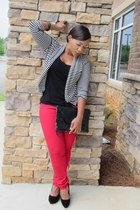 f21 top - giti jeans jeans - f21 cardigan - wedge heels UrbanOG heels