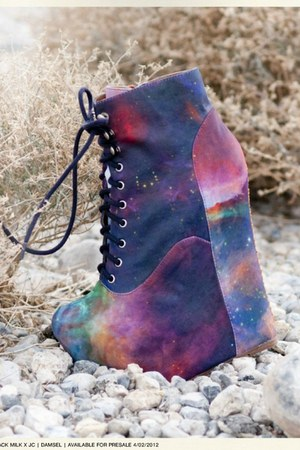 Black Milk x Jeffrey Campbell boots