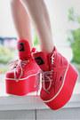 Platform-buffalo-sneakers