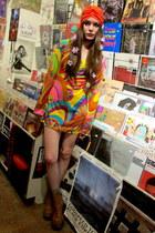hippie some velvet vintage dress