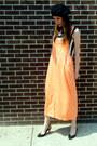 Neon-some-velvet-vintage-dress