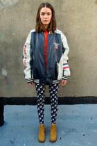 navy puerto rico some velvet vintage jacket