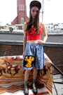 Homer-some-velvet-vintage-shorts