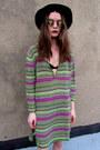 Striped-some-velvet-vintage-sweater