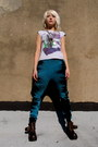 Tie-dye-some-velvet-vintage-leggings