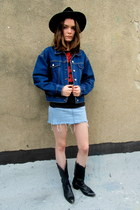 blue texas some velvet vintage jacket