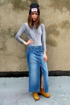 light blue denim Tommy Hilfiger skirt